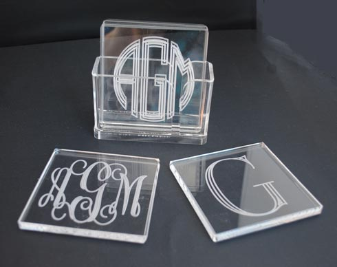 Tiger Lily  Acrylic Square Coasters $52.00