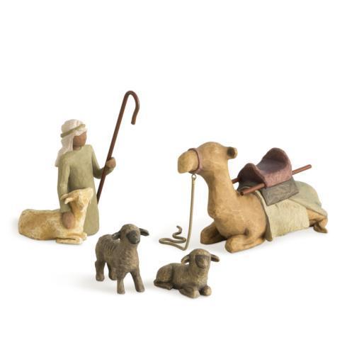 Shepherd And Stable Animals