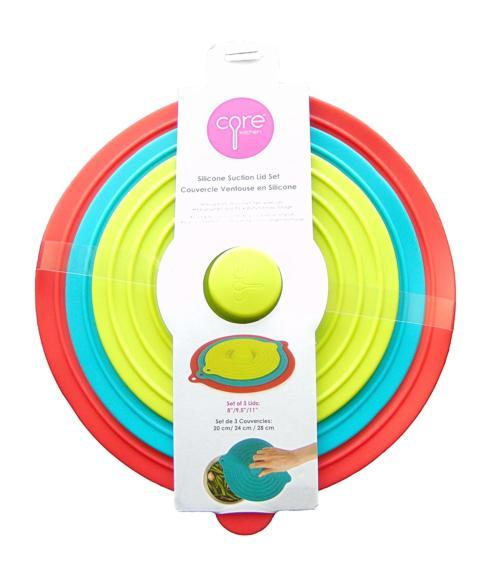 Core Kitchen   Set of 3 Silicone Suction Lids $19.95