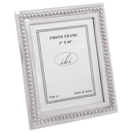 India Handicrafts  Picture Frames 8x10 Beaded Frame $35.95
