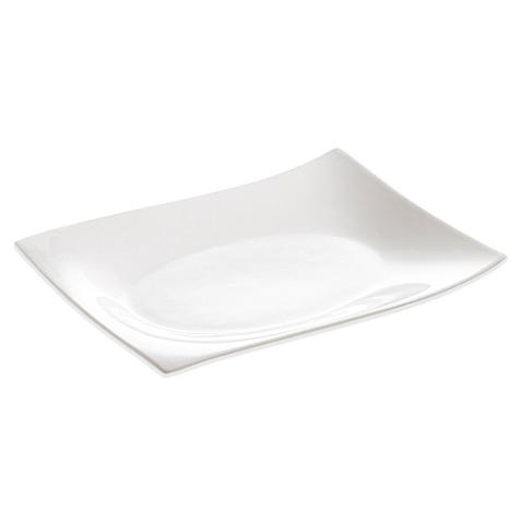 Maxwell & Williams  White Porcelain Serving Dishes Lg Rect Motion Platter $29.95