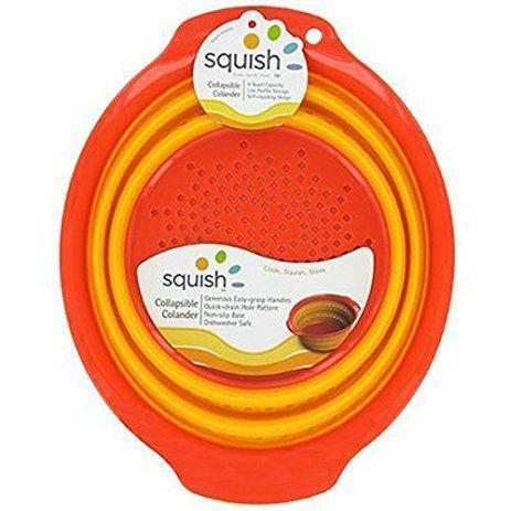 Oneida  Kitchen Utensils/Gadgets Collapsible 4 qt Colander $18.95