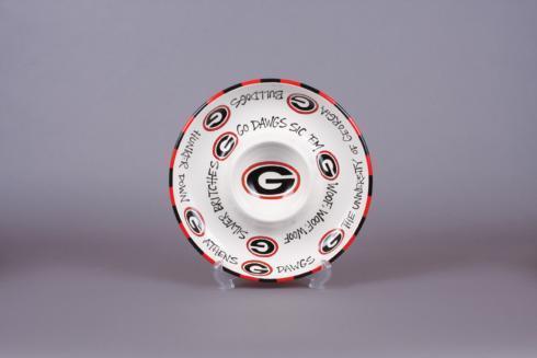 Magnolia Lane  Univ. of Georgia - UGA Circle Chip & Dip $39.99