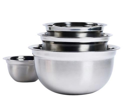 Harold Import  Prep Items Stainless Steel Bowl, 4 qt $16.00