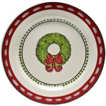 $18.75 Wreath Salad Plate