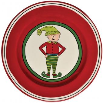 $25.00 Boy Elf Salad Plate