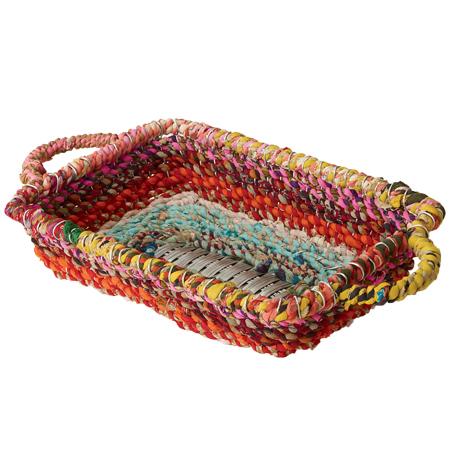 Color Jute Baskets collection