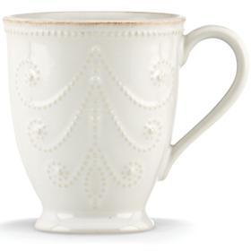 Lenox French Perle - White Dinnerware Mug $15.95