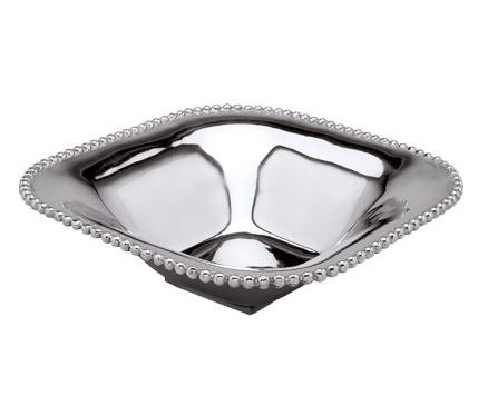 India Handicrafts  Beaded Serveware Extra Large Salad/Pasta Bowl $60.00