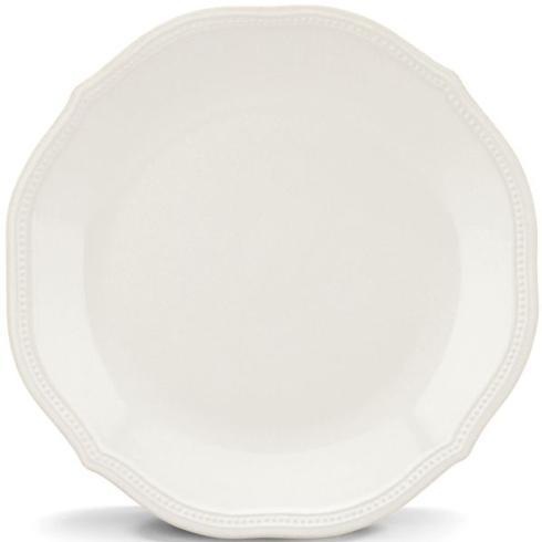 Lenox  French Perle Bead - White Dinner Plate, 10.75