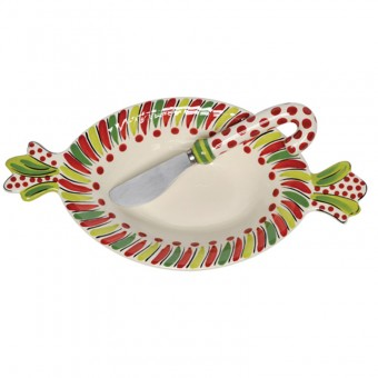 $20.29 Bowl with Spreader