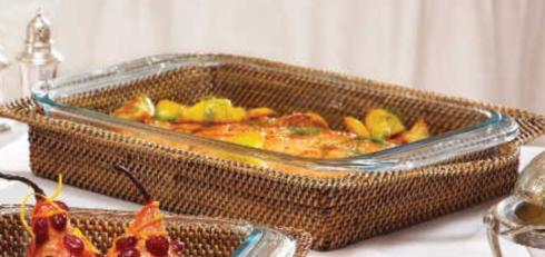 Calaisio 9X13 Hand Woven Casserole collection with 1 products