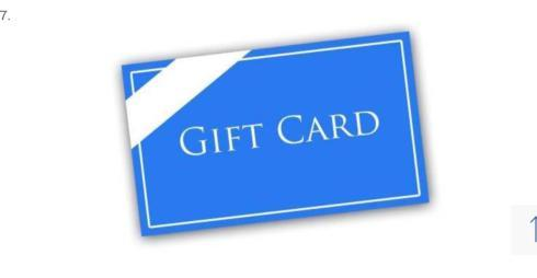 Tipton Hurst Gift Card collection with 1 products