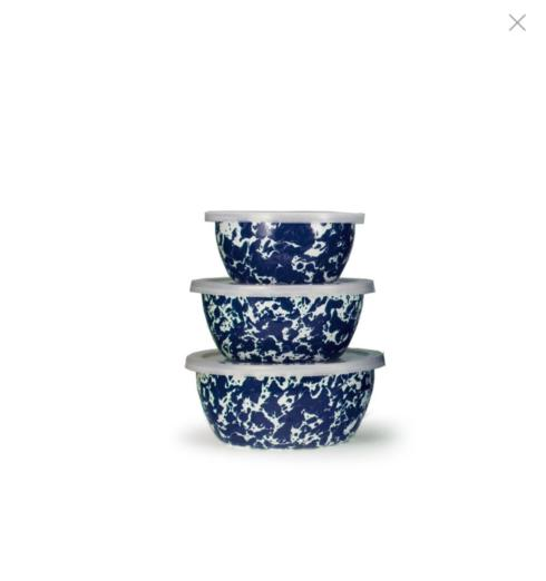 Cobalt Swirl Nesting Bowls collection with 1 products