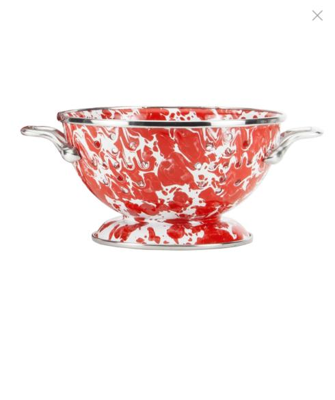 Red Petite 1 qt. Colander collection with 1 products