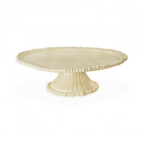 $64.00 beatriz ball melamine cake plate in butter