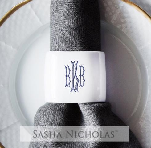 Tipton Hurst Exclusives   Sasha Nicholas  Napkin Rings $28.00