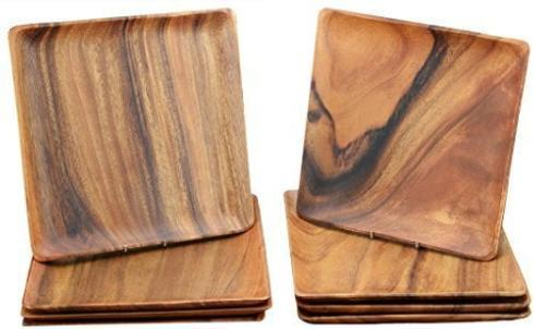 Pacific Merchants   Wood plates 12x12 $22.00