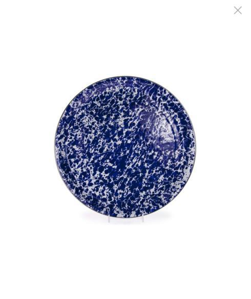 "Cobalt Swirl Round Tray/15 1/2"" collection with 1 products"