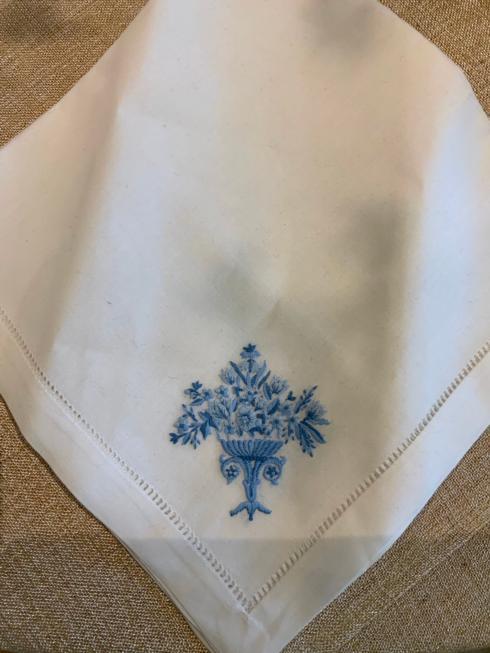 $16.00 Linen Embroidery Napkin