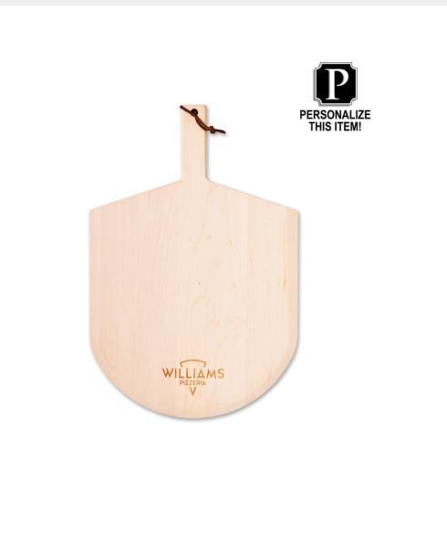 $79.00 Maple Leaf Pizza Paddle/Monogrammed