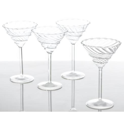 $19.00 ABIGAIL MARTINI GLASSES