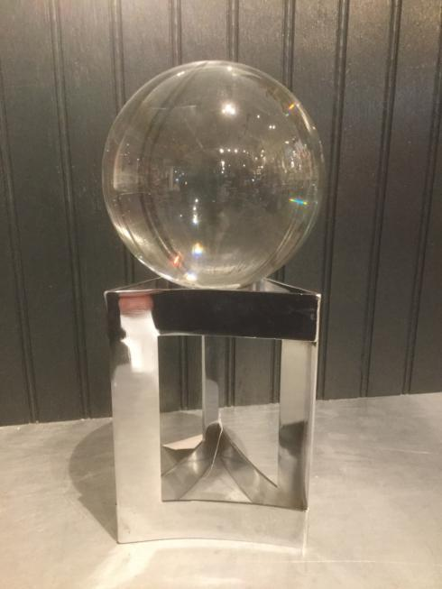 Glass Sphere on metal Stand collection with 1 products