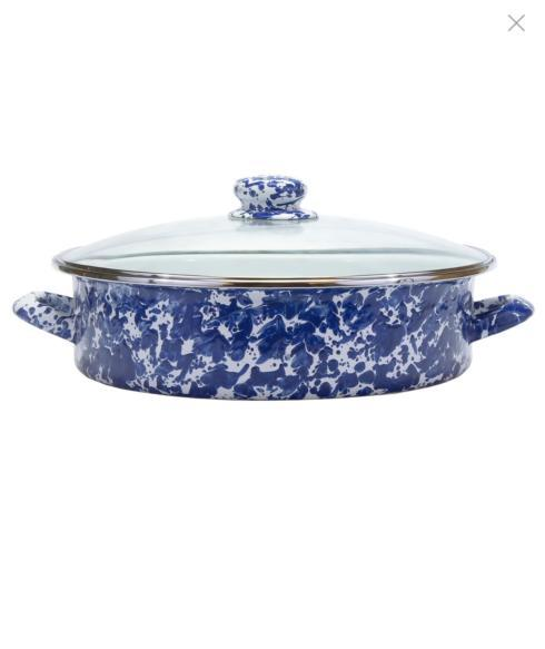 Cobalt Swirl 8 qt. Saute Pan collection with 1 products