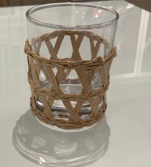 Tipton Hurst Exclusives   Island Chic Woven Glasses High Ball $14.00