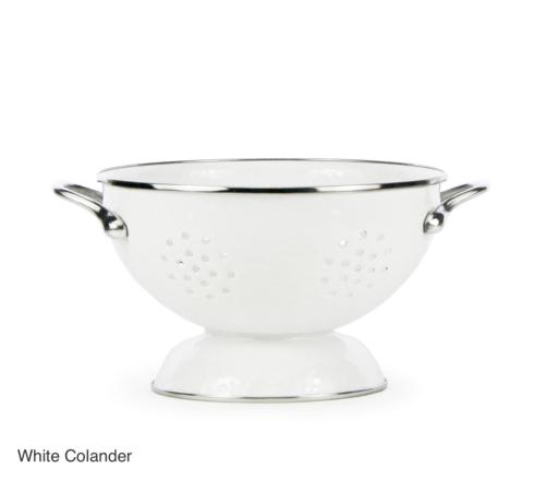 White Colander/Medium collection with 1 products