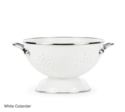 $31.50 White Colander/Medium