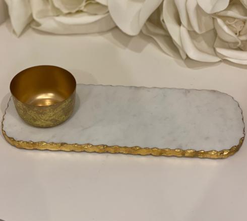 Tipton Hurst Exclusives   Marble Dip Tray $45.00