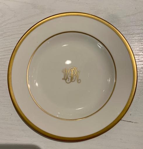 $48.00 Pickard Monogrammed Bread & Butter Plate