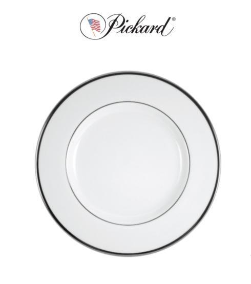 $59.00 Signature Platinum Monnogrammed Salad Plate