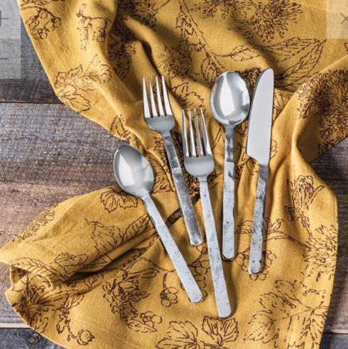 "Simon Pearce ""Orleans"" 5 Piece Flatware collection with 1 products"