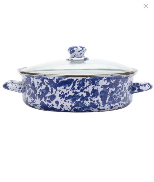 Cobalt Swirl 5 qt. Saute Pan collection with 1 products