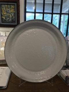 $68.00 golden rabbit platter