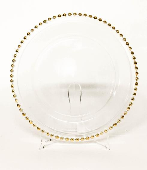 $26.00 Gold Beaded Charger
