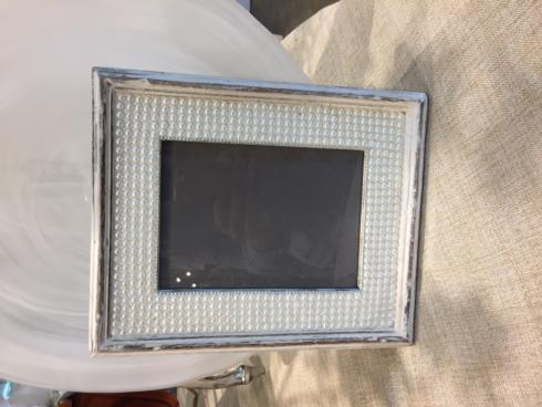 $48.00 Distressed Pearl Photo Frame 5x7