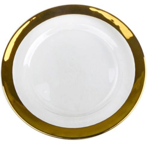 Gold Rim Charger Plate collection with 1 products
