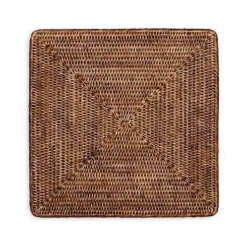 Caspari   Square Rattan Placemats $25.00