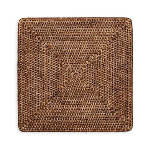 Square Rattan Placemats collection with 1 products