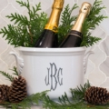 Sasha Nicholas   Champagne Bucket With Monogram $195.00