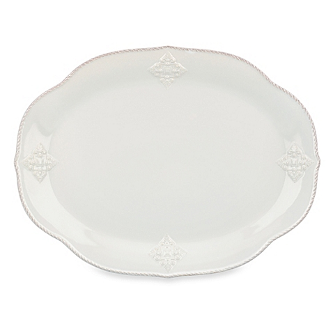 $115.00 French Perle Oval Platter