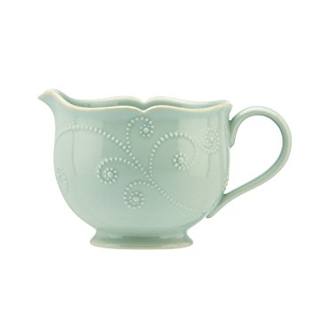 $12.00 French Perle Ice Blue Teacup
