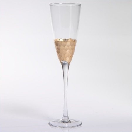 Zodax   Gold Leaf Champagne Flute  $21.00