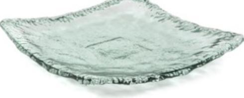 Primitive Artisan   Iceberg Large Square Platter  $47.00