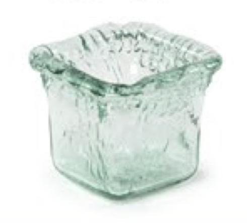 Primitive Artisan   Iceberg Square Mini Votive  $10.00