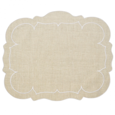 $25.00 Rectangular Linen Placemat