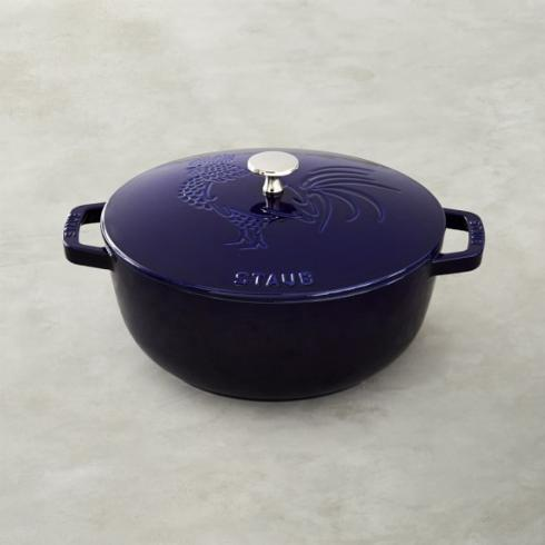 Staub   French Oven Rooster 3.75 Qt $240.00